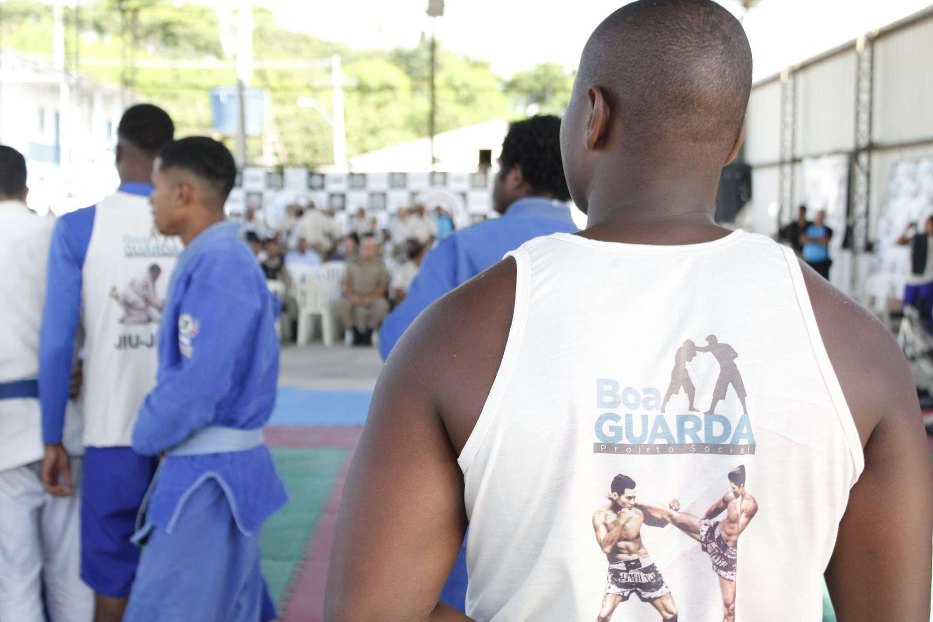 Aula do projeto Boa Guarda: um ano de atividades