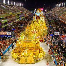 O Rio foi aprovado por turistas durante o carnaval deste ano. Foto: Fernando Grilli | Riotur