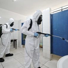 Militares fizeram limpeza em todas as áreas comuns. Foto: SMASDH/ Prefeitura do Rio