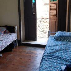 Hotel Cruz de Ouro, localizado no Centro, acolheu 100 homens nesta quarta-feira (20/05). Foto: Divulgação / Prefeitura do Rio