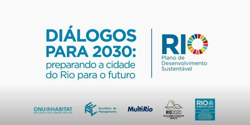 Encontro online desta quinta (04/06) encerra a série temática com participação da população na construção do Plano de Desenvolvimento Sustentável do Rio. Foto: Divulgação / Prefeitura do Rio